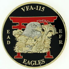 Excellence Strike Fighter Squadron VFA-115 Eagles EAD EFR US Navy Challenge Coin