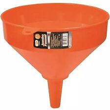 "10"" JUMBO PLASTIC FUNNEL TOOL Kitchen Garage Garden Engine Large Heavy Duty"