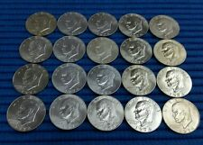 1974 S Eisenhower Dollar 40% Silver (BU) .3161 ASW ( Lot of 20 Pieces/Tube)