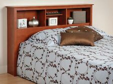 NEW Sonoma Full/Queen Bed Bookcase Headboard - Cherry