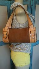 Auth *LANCEL PARIS* YSKB - Shoulder Bag Leather/Suede Camel