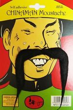 Kung Fu Master Chinese New Year Adults China Man Moustache Fancy Dress Accessory