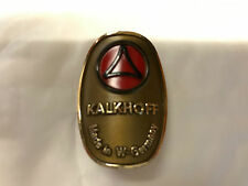 KALKHOFF GENUINE 80's MADE BIKE HEAD BADGE OLD SCHOOL BMX OR KALKHOFF BIKE