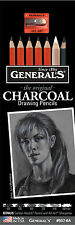 General's Original Charcoal Drawing Pencils + Bonus Pieces