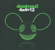 4x4=12 [Digipak] by Deadmau5 (CD, Dec-2010, Virgin)