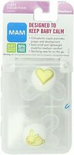 MAM Start Silicone Pacifier, Colors May Vary 2 Ct