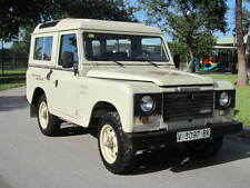 Land Rover : Defender Santana 88