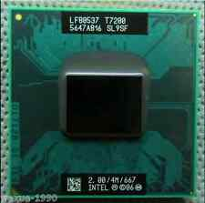Intel Core 2 Duo T7200 2.0GHz /4MB Dual-Core Processor Socket M free shipping