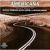 Randall THOMPSON Elliott CARTER Seymour SHIFRIN Americana CD NEW WORLD
