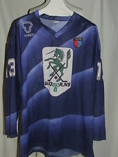 MAGLIA SHIRT TRIKOT HOCKEY IN LINE MATCH WORN UNJCORNS TICINO ISLER 13