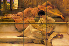 Lawrence Alma Tadema Mural Ceramic Tiles Decor Backsplash Tile #294