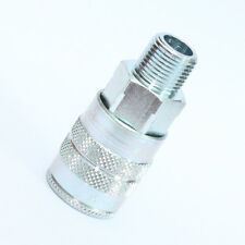 "1/2"" NPT Male, 1/2"" Body Manual Industrial Quick Disconnect Socket 4FM4"