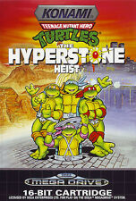 ## Turtles: Hyperstone Heist - SEGA Mega Drive / MD Spiel - TOP ##