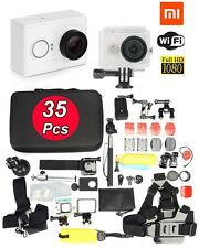 Original XiaoMi Yi Ambarella A7 WIFI Sports Action Cam White +35in1 Accessories