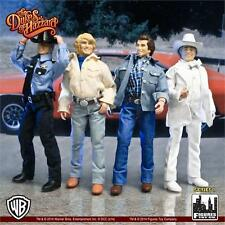 Dukes of Hazzard 12 Inch Retro Action Figures Toy Company SET OF 4 Bo Luke Hogg