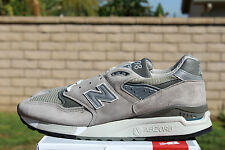 NEW BALANCE M998 SZ 8.5 2015 BRING BACK GREY 998 CLASSIC MADE IN THE USA