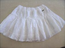 Abercrombie & Fitch Womens Lace White Skirt Sz M  - NWT $68