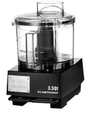 WARING 3.5 QUART FOOD PROCESSOR WITH S-BLADE AND WHIPPING DISC - WFP14SW