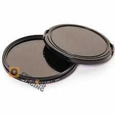 Hama 77mm ND2-ND400 ND Variable Neutral Density Camera Lens Filter + 82mm Cap