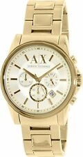 Armani Exchange Men's AX2099 'Classic' Chronograph Gold-Tone steel Watch