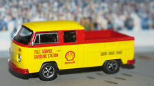 1976 '76 VOLKSWAGEN VW DOUBLE CAB TRUCK DIECAST 1/64 SCALE SHELL GAS GREENLIGHT