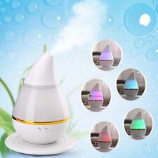 Ultrasonic 250ml Home Aroma Humidifier Air Diffuser Purifier Ionizer Atomizer SS