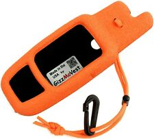 Garmin Rino 655t 650 CASE / COVER Holster, Orange, Made in the USA by GizzMoVest