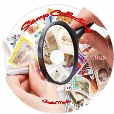 How to Start Stamp Collecting 8 Books on CD collection album stamps supplies