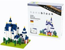 NANOBLOCKS SCHLOSS NEUSCHWANSTEIN MINI BRICKS PUZZLE NANOBLOCK GREAT GIFT