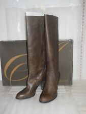 Enzo Angiolini NWB Womens Karissa Dark Brown Leather Boots Shoes 10.5 MED NEW
