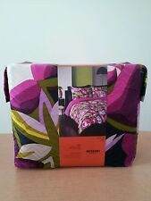 NWT Missoni Target Purple Passione floral King Duvet Cover Set
