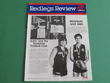 1986 Redlegs Review Norwood Football Club  Hein Tuohy Ross Stewart Balme