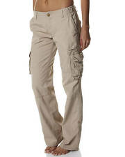 "BRAND NEW + TAG BILLABONG 'AT EASE' LADIES SIZE 10 / 28"" SAND CARGO PANTS RRP90"