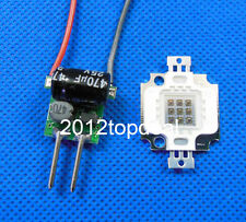 1set 10W Infrared IR led chip 940nm + MR16 3x3w 600mA diver kit F DIY
