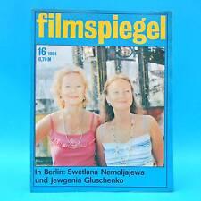 DDR Filmspiegel 16/1984 Lolek und Bolek Blankenburg Philippe Noiret W. Plathe O