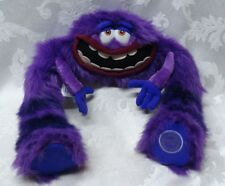 "Disney Pixar ART Monsters University Furry Poseable 28"" Jumbo Purple Seal London"