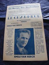 Partition Le Charmeur de Betooverende Emile Van Herck
