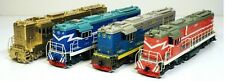 N27 China Railway Brass DF7C Diesel Locomotive (4 units set) (HO scale)