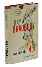 Fahrenheit 451 ~ by RAY BRADBURY ~ First Edition ~ 1st Printing 1953 Hardcover