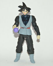 ULTRA RARE TOY MEXICAN DRAGON BALL Z GOKU BLACK FIGURE WITH LIGHT 9.5 INCHES