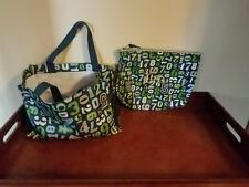 THIRTY ONE 31 BAGS NUMBERS SMALL UTILITY ORGANIZING TOTE & POUCH RETIRED EUC