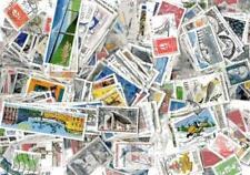 France 300 timbres différents oblitérés