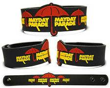 MAYDAY PARADE Rubber Bracelet Wristband Anywhere But Here Monsters in the Closet