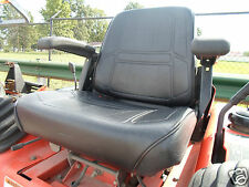 BLACK HIGH BACK SEAT KUBOTA ZD 21,25,28 ZERO TURN MOWERS,GRAVELY,SNAPPER,ZTR #JJ
