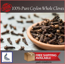 Indian Organic Whole Cloves- High Quality Certified Organic Clove - (100 gm)