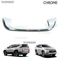 Mitsubishi Pajero Montero Sport 2016  Chrome Tail Gate Fender Trim Under License