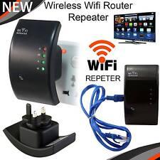 Wireless WIFI Ripetitore di segnale Booster EXTENDER Router PC Internet WPS A LUNGO RAGGIO