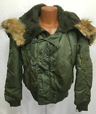1971 US Air Force N-2B Heavy Winter Flying Jacket With Attached Hood