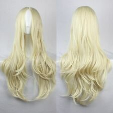Fashion Women's Wigs Full Long Bangs Curly Wavy Colorful Cosplay Party Wig