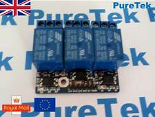 3 way 3.3V/5V 10A Relay Module for Arduino Raspberry Pi ESP8266 + Optocoupler